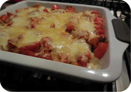 Gegratineerde Schnitzels met Tomatensaus