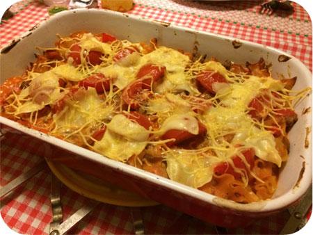 Lasagne van Mieneke