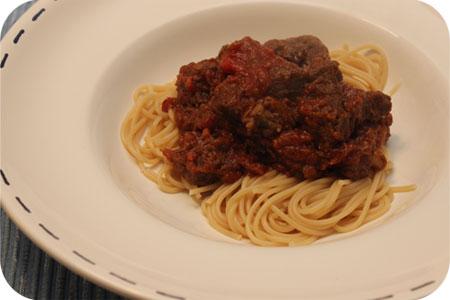 Spaghetti Stoofvlees