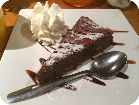 Brownie bij Columbus Scheveningen