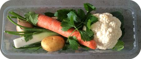 groentesoep verspakket Albert Heijn