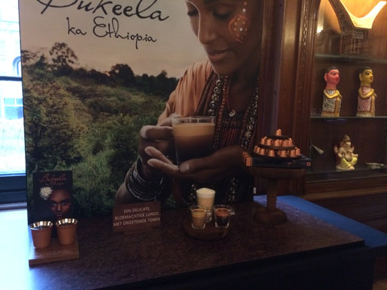 setting nieuwe Nespresso Pure Origin Bukeela ka Ethiopia