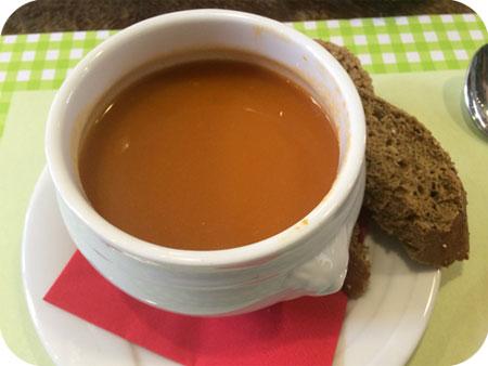 Brasserie de Flandrien in Oudenaarde huissoep hiermee haal je gegarandeerd parijs