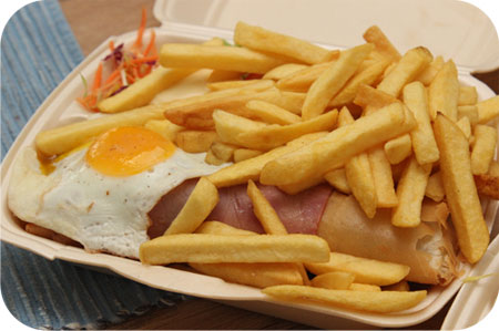 loempiaschotel Cafetaria 't Hoekje in Veenendaal