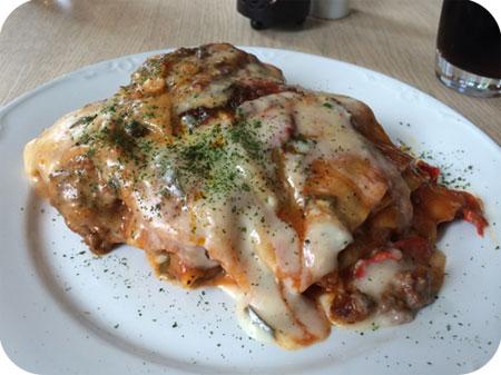 Sønder Bjert Kro in Bjert lasagne