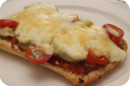 Vega: Ciabatta Pizza