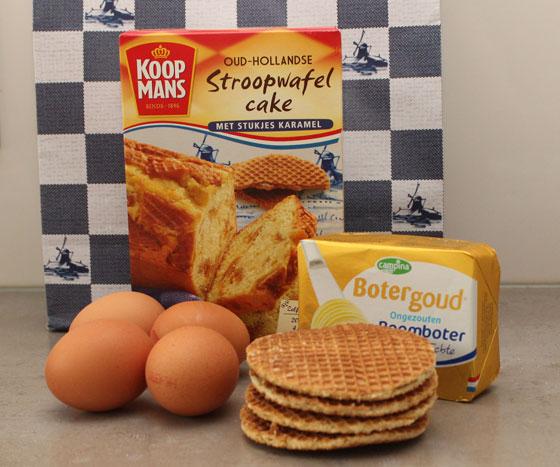 Koopmans Oud Hollandse Stroopwafelcake ingrediënten