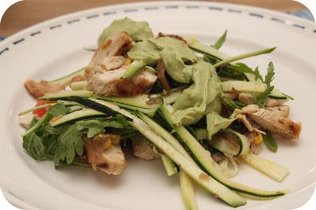 Salade Zucchiatelle