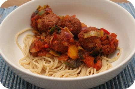 Vega Spaghetti met Balletjes