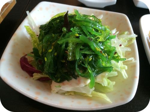 Nakoyashi in Veenendaal Wakame salad