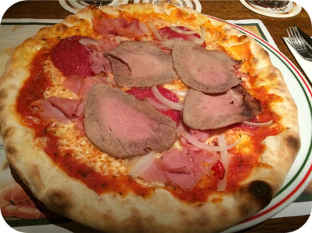 Sole d'Italia in Ede pizza Romana