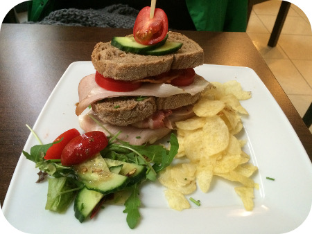 Koffie & Co in Arnhem club sandwich blt