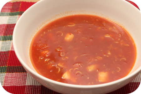 Indische Tomatensoep