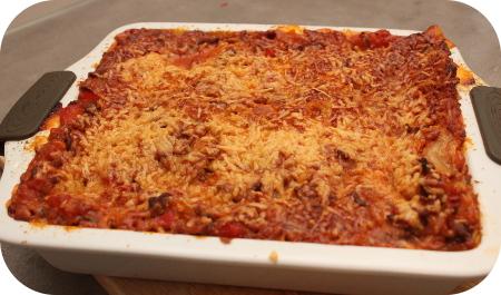 Lasagne van een Appie Kookpakket