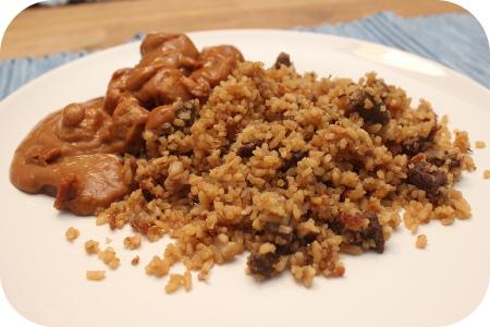 Nasi met Saté