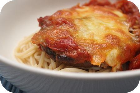 Portobello met Tomatensaus uit de Oven