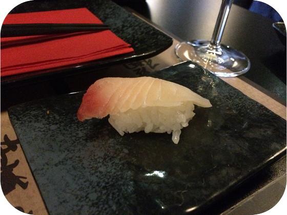 Kiyoshi in Veenendaal tilapia sushi