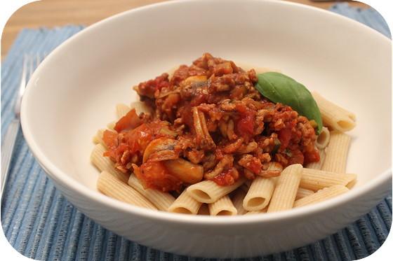 Vega Pasta Bolognese