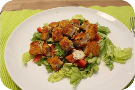 Kip Krokant Salade