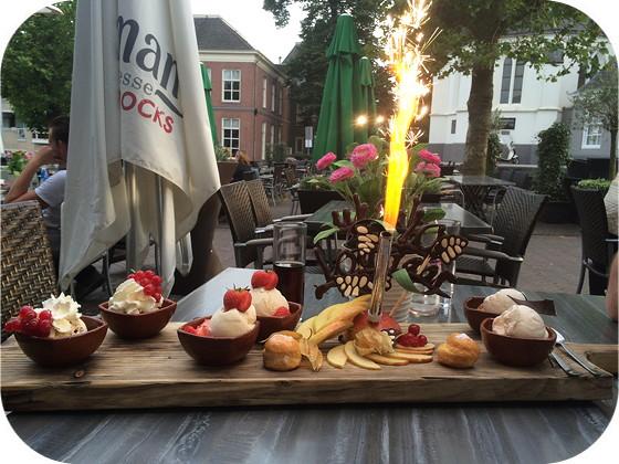 De Plantage - Veenendaal dessertplankje