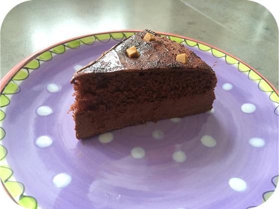 Royal Chocolate Taart van Oetker