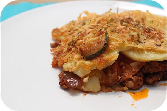 Aardappelschotel met Gehakt en Groenten
