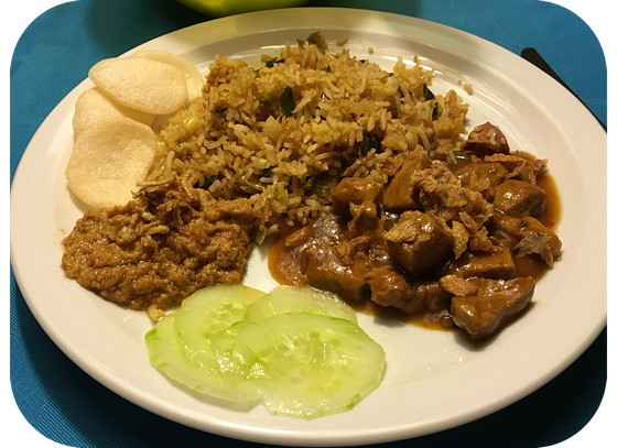 Nasi met Babi Bali van Mieneke