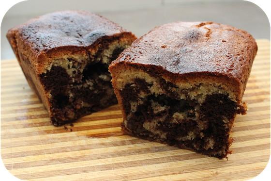 Gemarmerde Cake met Pecannoten