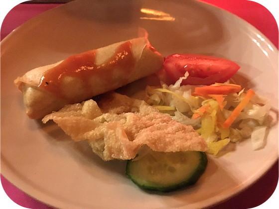 voorgerecht rijsttafel Istimewa batavia mix