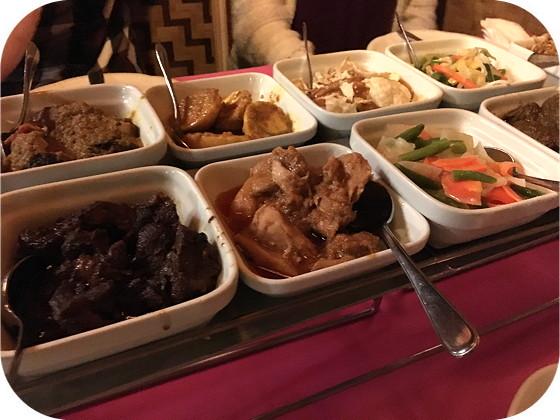 rijsttafel Istimewa hoofdgerecht