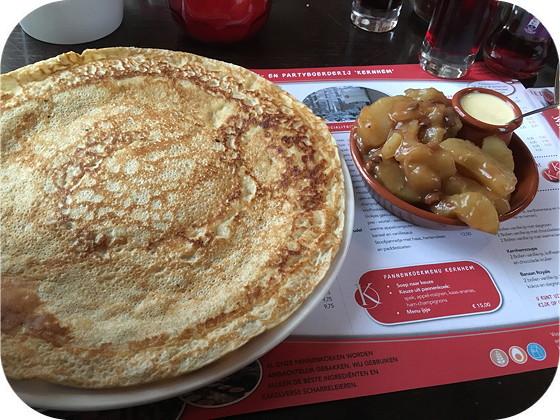Pannenkoekenrestaurants Kernhem ede pannenkoek apfelstrudel