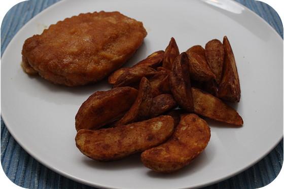Cordon Blue met Aardappel Wedges