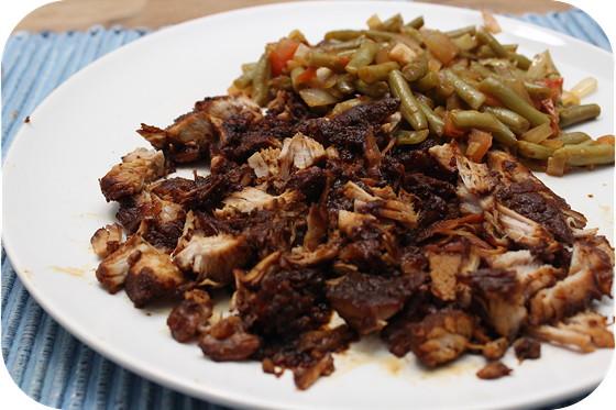 Indonesische Pulled Pork met Toemis Boontjes