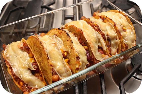 Taco's met Gemengde Bonen en Maïs