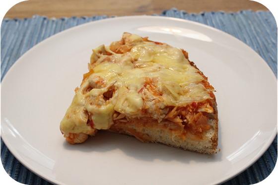 Turks Brood met Witte Kool en Kipfilet