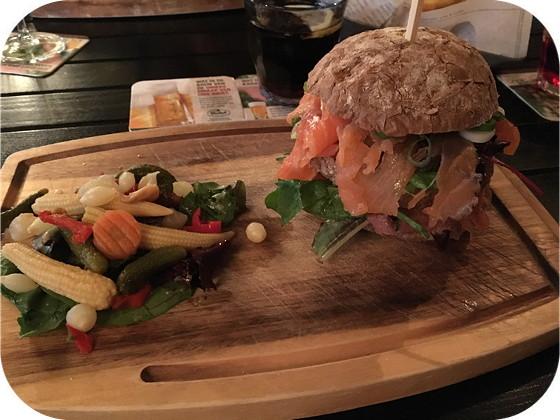 Koning van Denemarken - Rhenen Club sandwich zalm