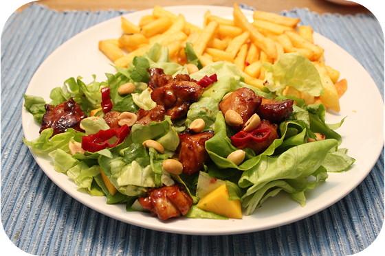Kip Mango Salade