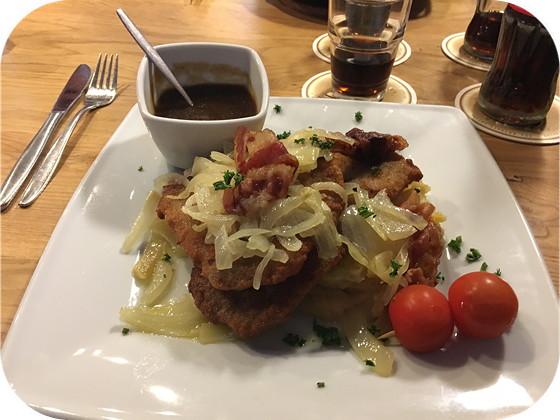 Heimbacher Brauhaus - Heimbach heimischer Brauhaus schnitzel