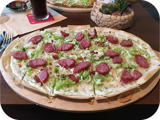 Burgrestaurant Kochkunst - Heimbach flammkuchen