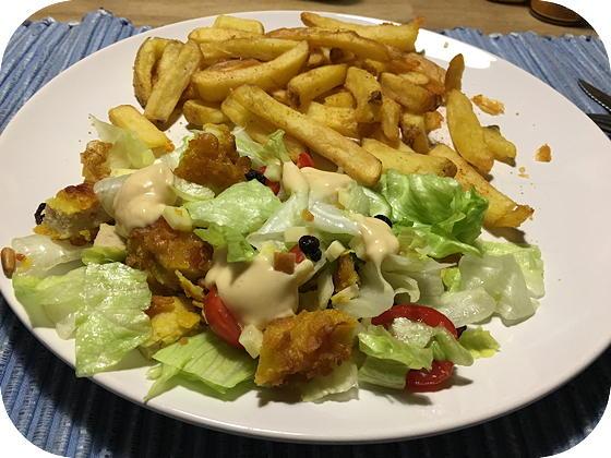 Salade Kip Krokant