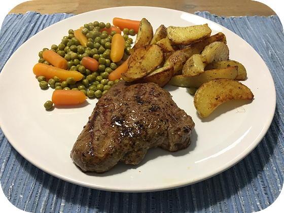 Biefstuk met Gebakken Aardappeltjes