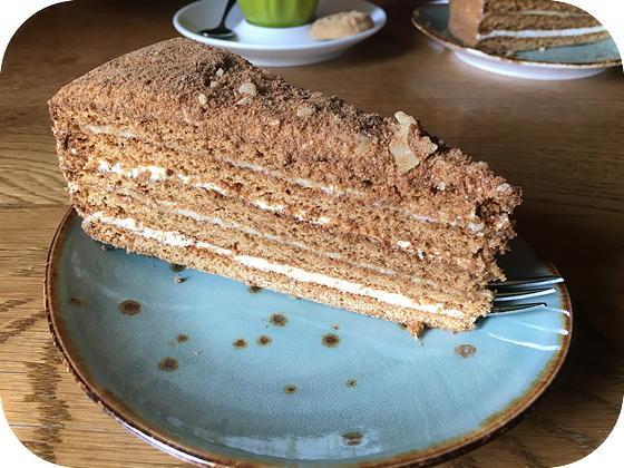 De Dennen - Renswoude honing walnoot taart