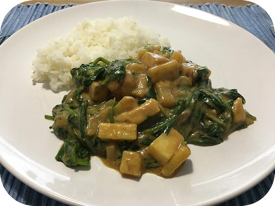 Panang Curry met Rijst