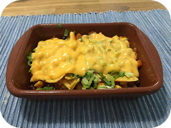 Vegetarisch Mexicaans Ovenschoteltje