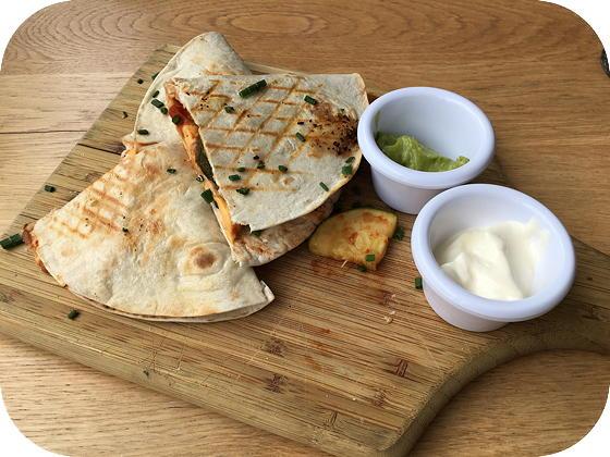Prinsheerlijk - Scherpenzeel quesadilla