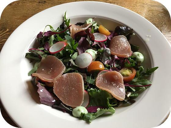 Vendel - Veenendaal salade lauwwarme tonijn