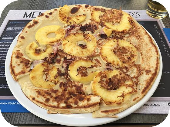 Hugo's in Veenendaal spek appel pannenkoek