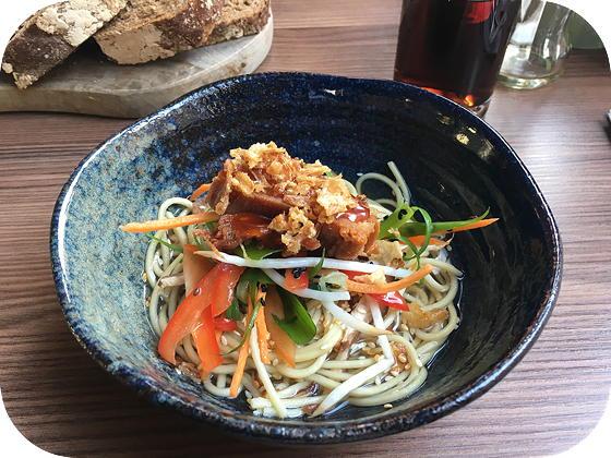 Lunchen bij Bite Veenendaal Krokant buikspek