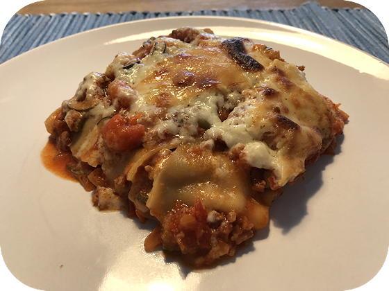 Lasagne met Courgette