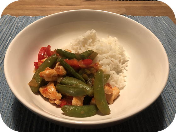 Sweet Chili met Rijst